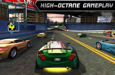 Capturas de pantalla del juego Rogue Racing para iPhone, iPad o iPod.