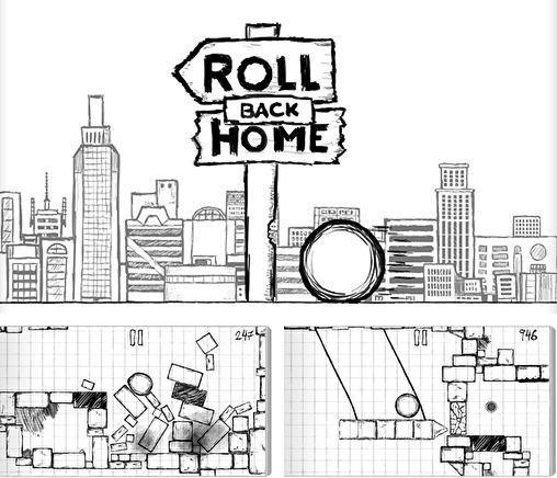 In addition to the game Cookie wars: Cookie run for iPhone, iPad or iPod, you can also download Roll back home for free.
