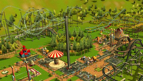 Descarga gratuita de Roller coaster tycoon 3 para iPhone, iPad y iPod.