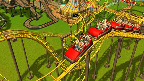 Roller coaster tycoon 3 iPhone game - free  Download ipa for iPad