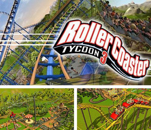 In addition to the game Cake mania 3 for iPhone, iPad or iPod, you can also download Roller coaster tycoon 3 for free.