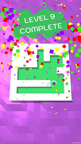 Capturas de pantalla del juego Roller splat! para iPhone, iPad o iPod.