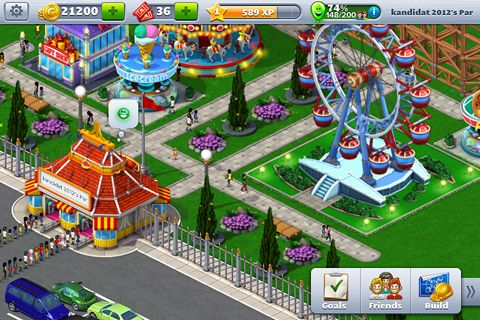 Rollercoaster tycoon 4: Mobile iPhone game - free  Download ipa for