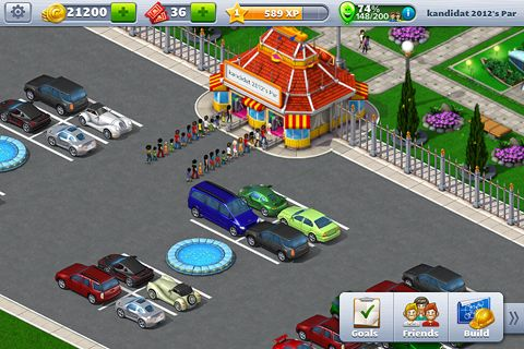 Screenshots of the Rollercoaster tycoon 4: Mobile game for iPhone, iPad or iPod.