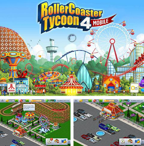 In addition to the game Five nights at Freddy's: Sister location for iPhone, iPad or iPod, you can also download Rollercoaster tycoon 4: Mobile for free.