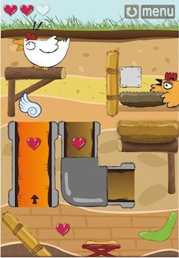 Screenshots of the Rolling Eggs! game for iPhone, iPad or iPod.