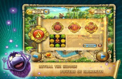 Screenshots of the Rolling Idols: Lost City game for iPhone, iPad or iPod.