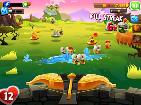 Écrans du jeu Romans From Mars pour iPhone, iPad ou iPod.