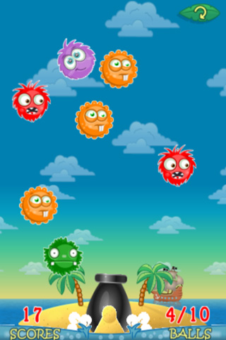 Capturas de pantalla del juego Ronaldo: Tropical island para iPhone, iPad o iPod.