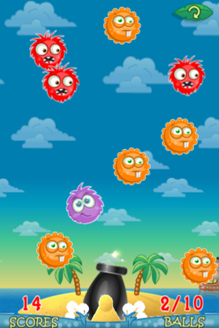 Screenshots do jogo Ronaldo: Tropical island para iPhone, iPad ou iPod.