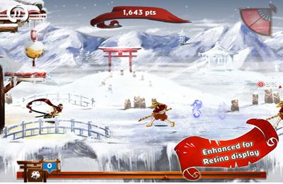 Capturas de pantalla del juego Ronin para iPhone, iPad o iPod.