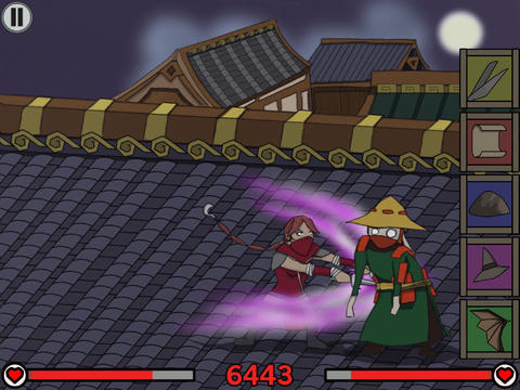 Free Ronin's revenge download for iPhone, iPad and iPod.