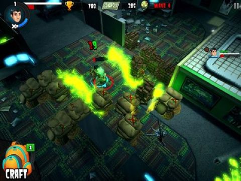Kostenloses iPhone-Game Rooster Teeth vs. Zombies herunterladen.