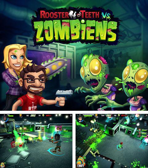 In addition to the game The Gods 3 for iPhone, iPad or iPod, you can also download Rooster teeth vs. zombiens for free.