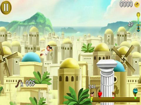 Screenshots do jogo Rope Escape Atlantis para iPhone, iPad ou iPod.