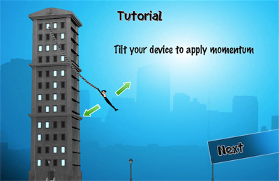 Download Rope'n'Fly - From Dusk Till Dawn iPhone free game.