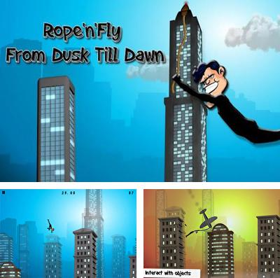 In addition to the game Cannibal Bunnies for iPhone, iPad or iPod, you can also download Rope'n'Fly - From Dusk Till Dawn for free.