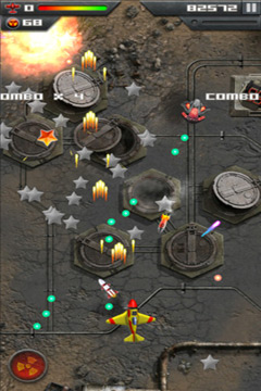 Screenshots vom Spiel Roswell Fighter Reloaded für iPhone, iPad oder iPod.