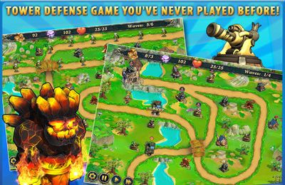 Screenshots vom Spiel Royal Defense für iPhone, iPad oder iPod.