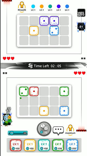 Screenshots do jogo Royal dice: Random defense para iPhone, iPad ou iPod.