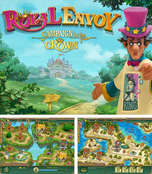 In addition to the game Please, don't touch anything 3D for iPhone, iPad or iPod, you can also download Royal envoy: Campaign for the crown for free.