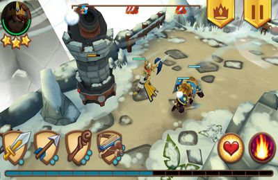 Capturas de pantalla del juego Royal Revolt! para iPhone, iPad o iPod.