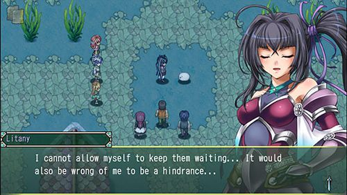 Download Rpg Asdivine menace iPhone free game.