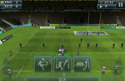 Игра Rugby Nations '13 для iPhone