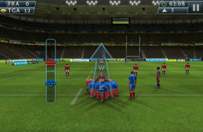 Screenshots of the Rugby Nations '13 game for iPhone, iPad or iPod.