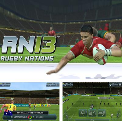 Download Rugby Nations '13 iPhone free game.