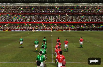 Descarga gratuita de Rugby Nations 2011 para iPhone, iPad y iPod.