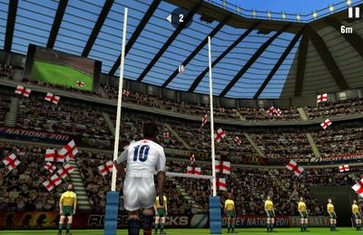 Screenshots of the Rugby Nations 2011 game for iPhone, iPad or iPod.