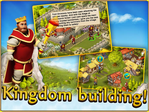 Download Rule the Kingdom iPhone free game.