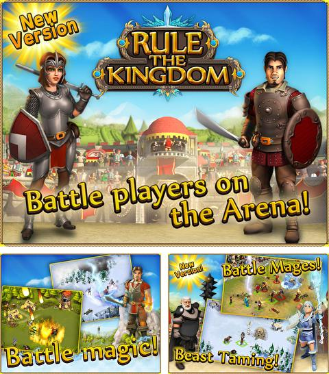 In addition to the game Gravity badgers for iPhone, iPad or iPod, you can also download Rule the Kingdom for free.