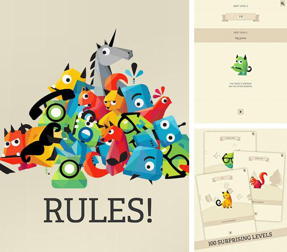In addition to the game Clear Vision 2 for iPhone, iPad or iPod, you can also download Rules! for free.