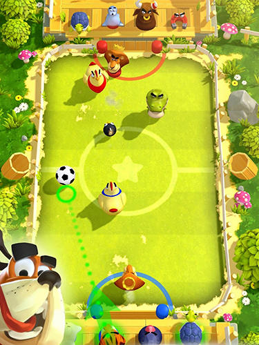 Screenshots of the Rumble stars game for iPhone, iPad or iPod.