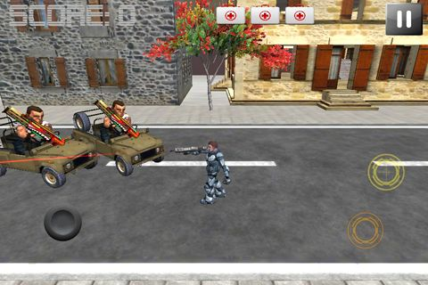 Écrans du jeu Run and gun pour iPhone, iPad ou iPod.