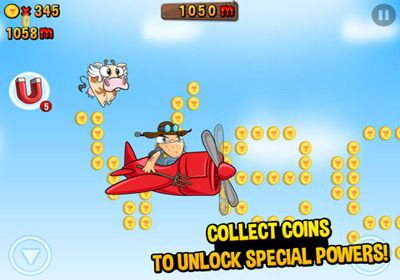 Download Run Cow Run iPhone free game.