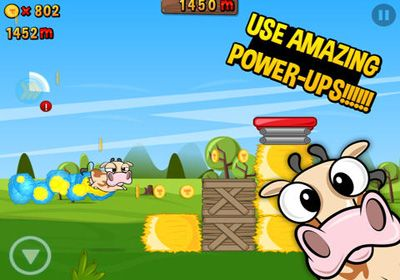 Free Run Cow Run download for iPhone, iPad and iPod.