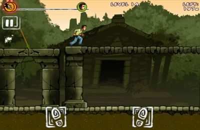 Écrans du jeu Run like hell! pour iPhone, iPad ou iPod.