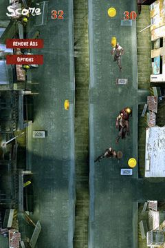 Free Run or Die: Zombie City Escape download for iPhone, iPad and iPod.