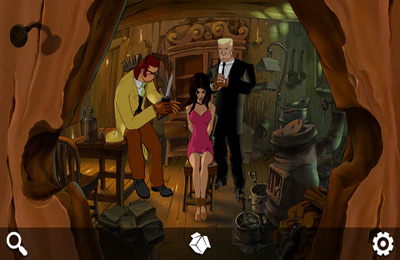 Screenshots of the Runaway: A Road Adventure game for iPhone, iPad or iPod.