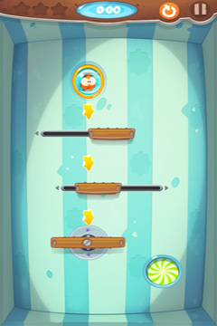 Screenshots of the Runaway Snack game for iPhone, iPad or iPod.