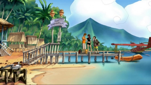 Screenshots vom Spiel Runaway: The Dream Of The Turtle für iPhone, iPad oder iPod.