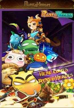 Download Rune & Heroes iPhone free game.