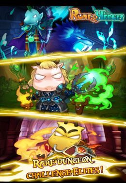 Screenshots do jogo Rune & Heroes para iPhone, iPad ou iPod.