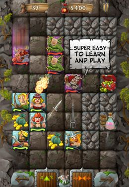 Capturas de pantalla del juego Rune Raiders para iPhone, iPad o iPod.