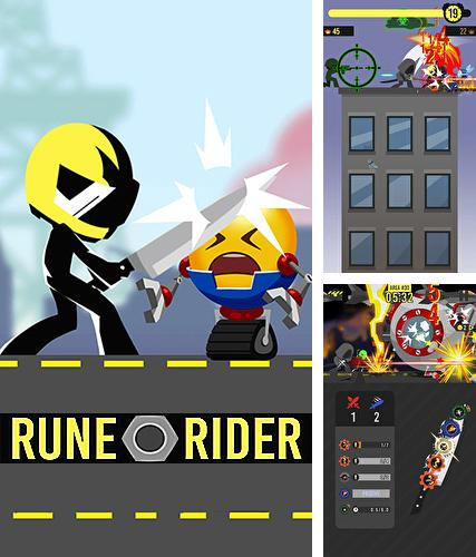 In addition to the game Munchy Bunny for iPhone, iPad or iPod, you can also download Rune rider for free.