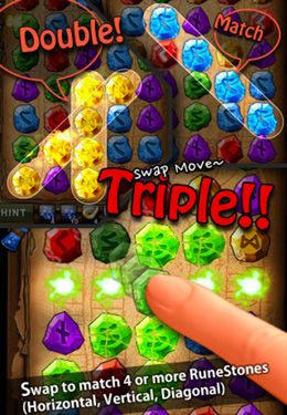 Download RuneMasterPuzzle iPhone free game.