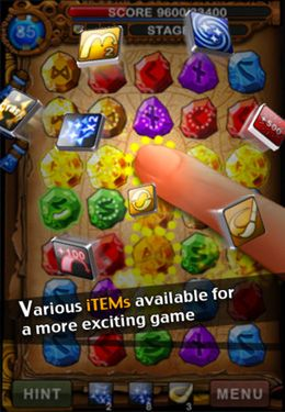 Screenshots of the RuneMasterPuzzle game for iPhone, iPad or iPod.